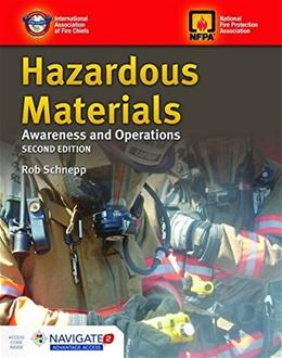 Hazardous Materials Awareness and Operations, by Schnepp, 2nd Edition 2 PKG 9781449641542