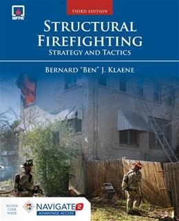Structural Firefighting: Strategy and Tactics, by Klaene, 3rd Edition 3 PKG 9781449642396