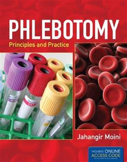 Phlebotomy: Principles and Practice, by Moini PKG 9781449652609