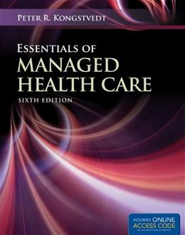 Essentials of Managed Health Care (Essentials of Managed Care) 6 PKG 9781449653316