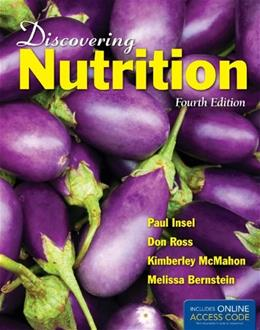 Discovering Nutrition, by Insel, 4th Edition 4 PKG 9781449661335