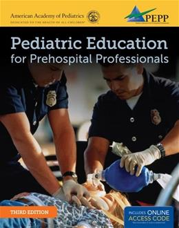 Pediatric Education For Prehospital Professionals, by Fuchs, 3rd Edition 3 PKG 9781449670436