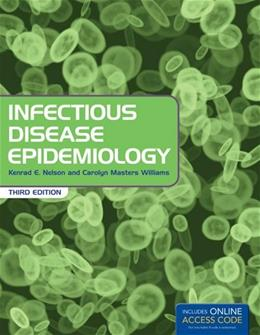Infectious Disease Epidemiology, by Nelson, 3rd Edition 3 PKG 9781449683795