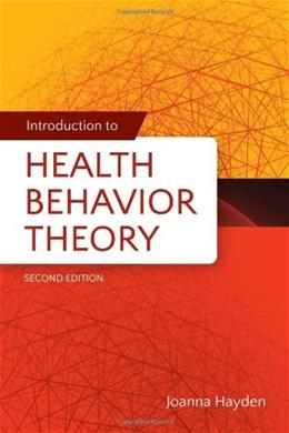 Introduction to Health Behavior Theory 2 9781449689742