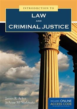 Introduction To Law And Criminal Justice PKG 9781449690328
