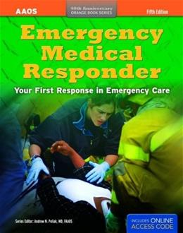 Emergency Medical Responder: Your First Response in Emergency Care (Orange Book) 5 PKG 9781449693008