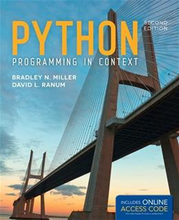 Python Programming in Context 2 PKG 9781449699390