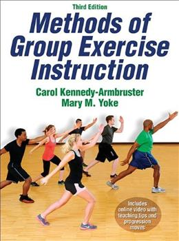 Methods of Group Exercise Instruction-3rd Edition With Online Video 3 PKG 9781450421898