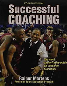 Successful Coaching, by Martens, 4th Edition, 2 BOOK SET 4 PKG 9781450430746