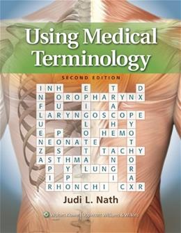 Using Medical Terminology, by Nath 2 PKG 9781451115833