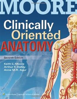 Clinically Oriented Anatomy 7 PKG 9781451119459