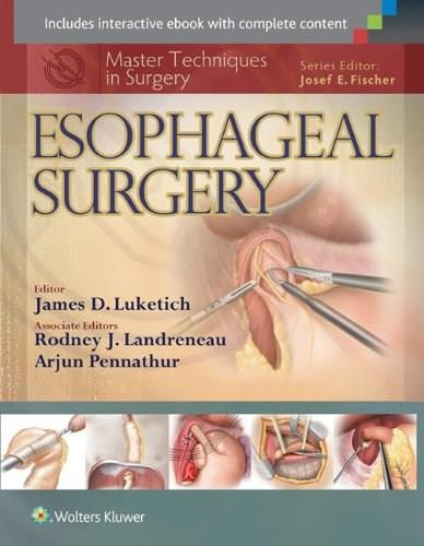 Master Techniques in Surgery: Esophageal Surgery 9781451183733