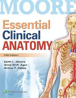 Essential Clinical Anatomy 5 PKG 9781451187496