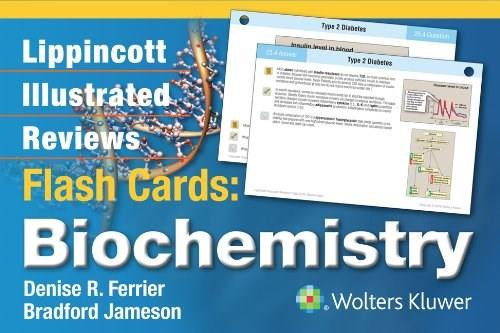 Lippincott Illustrated Reviews Flash Cards: Biochemistry, by Ferrier, Flashcards Only PKG 9781451191110