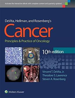 Cancer: Principles and Practice of Oncology, by DeVita, 10th Edition 10 PKG 9781451192940