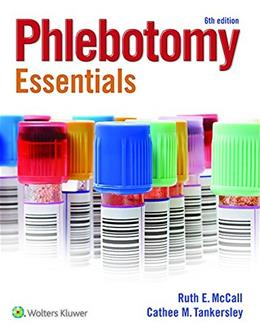 Phlebotomy Essentials 6 PKG 9781451194524