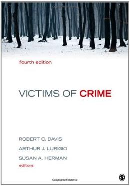 Victims of Crime, by Davis, 4th Edition 9781452203201