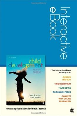 Child Development: An Active Learning Approach 2 9781452216799