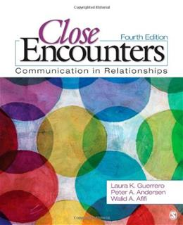 Close Encounters: Communication in Relationships 4 9781452217109