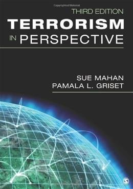 Terrorism in Perspective, by Mahan, 3rd Edition 9781452225456