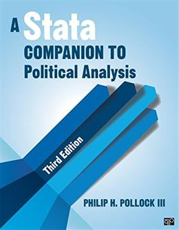 Stata Companion to Political Analysis, by Pollock, 3rd Edition 9781452240428