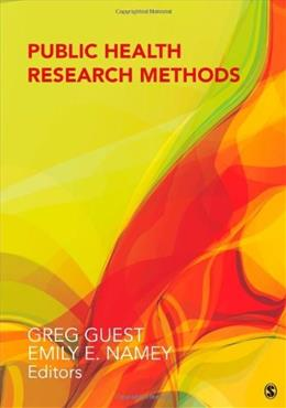 Public Health Research Methods, by Guest 9781452241333