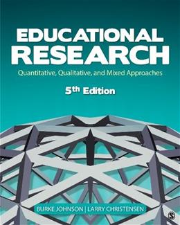 Educational Research: Quantitative, Qualitative, and Mixed Approaches 5 9781452244402