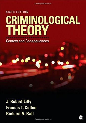Criminological Theory: Context and Consequences 6 9781452258164