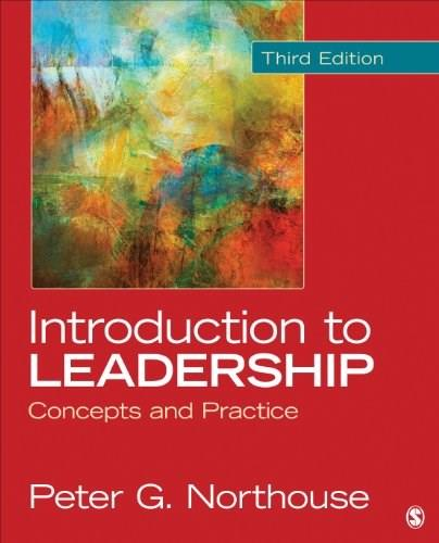 Introduction to Leadership: Concepts and Practice 3 9781452259666