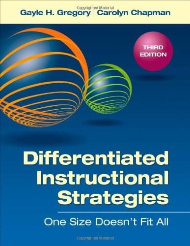 Differentiated Instructional Strategies: One Size Doesn
