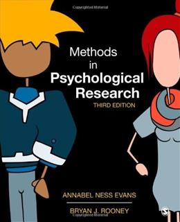 Methods in Psychological Research 3 9781452261041