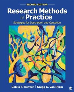 Research Methods in Practice: Strategies for Description and Causation 2 9781452276403
