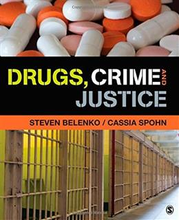 Drugs, Crime, and Justice, by Belenko 9781452277080