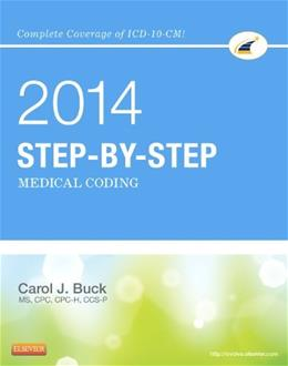 Step by Step Medical Coding, by Buck 9781455746354