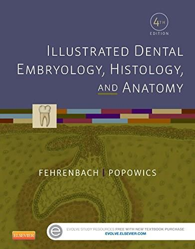 Illustrated Dental Embryology, Histology, and Anatomy, 4e 9781455776856