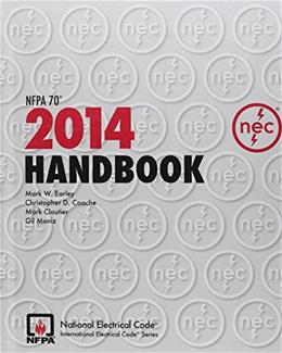 National Electrical Code 2014 Handbook (International Electrical Code) 13 9781455905447