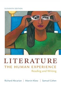 Literature: The Human Experience: Reading and Writing 11 9781457604294