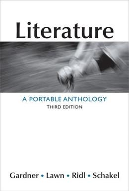 Literature: A Portable Anthology 3 9781457606502