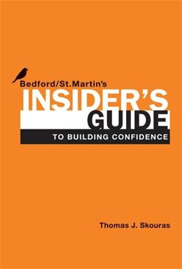 Insiders Guide to Building Confidence First Edit 9781457612183
