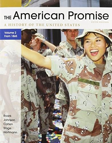 American Promise, by Roark, 5th Edition, Volume 2, 2 BOOK SET 5 PKG 9781457615740