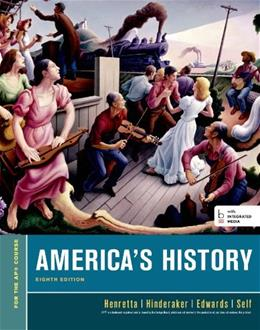 America's History, For the AP* Course 8 PKG 9781457628931