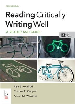 Reading Critically, Writing Well 10 PKG 9781457638947