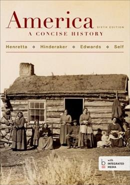 America: A Concise History, Combined Volume 6 PKG 9781457648625