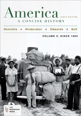 America: A Concise History, Volume 2 6 PKG 9781457648649