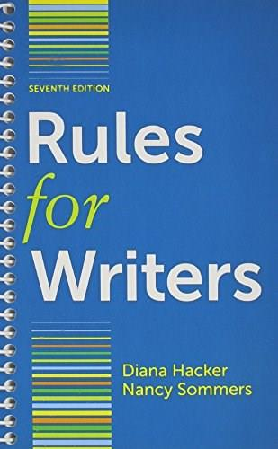 Rules for Writers 7e & LearningCurve for Rules for Writers 7e (Access Card) Seventh Ed 9781457653537