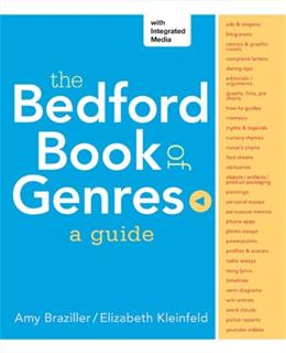 Bedford Book of Genres: A Guide, by Braziller 9781457654138
