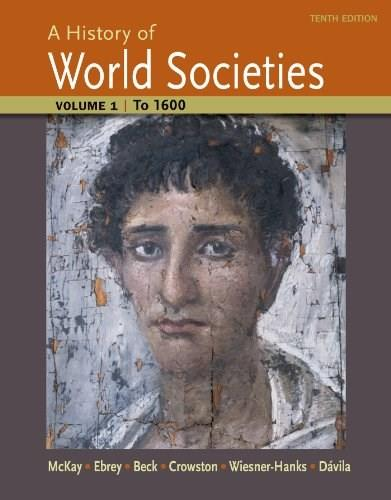 A History of World Societies, Volume 1: to 1600 10 9781457659942