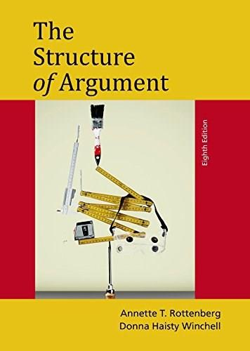 The Structure of Argument 8 9781457662355