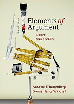 Elements of Argument: A Text and Reader 11 9781457662362