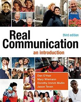 Real Communication: An Introduction 3 9781457662928